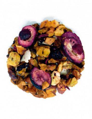 Infusión de frutas de cereza, kiwi y...