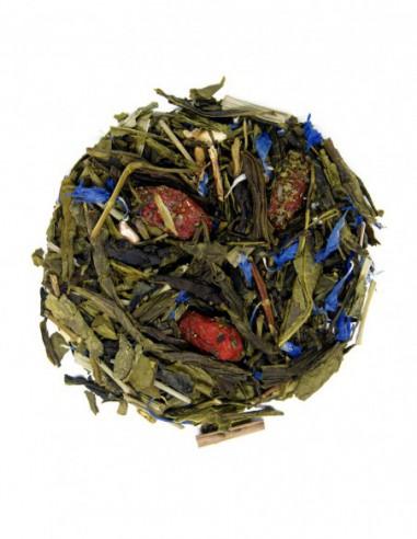 Té verde Sencha con bayas de goji