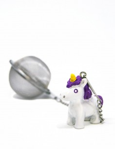 Infusor de té unicornio